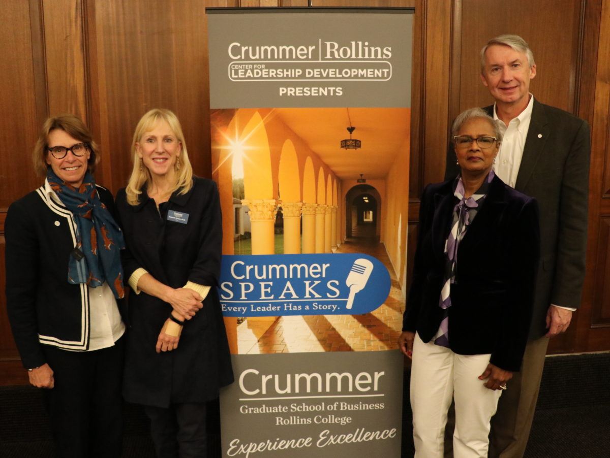Crummer Speaks Event with Grant Cornwell