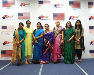 Dr. Mary Conway in India with Global Links