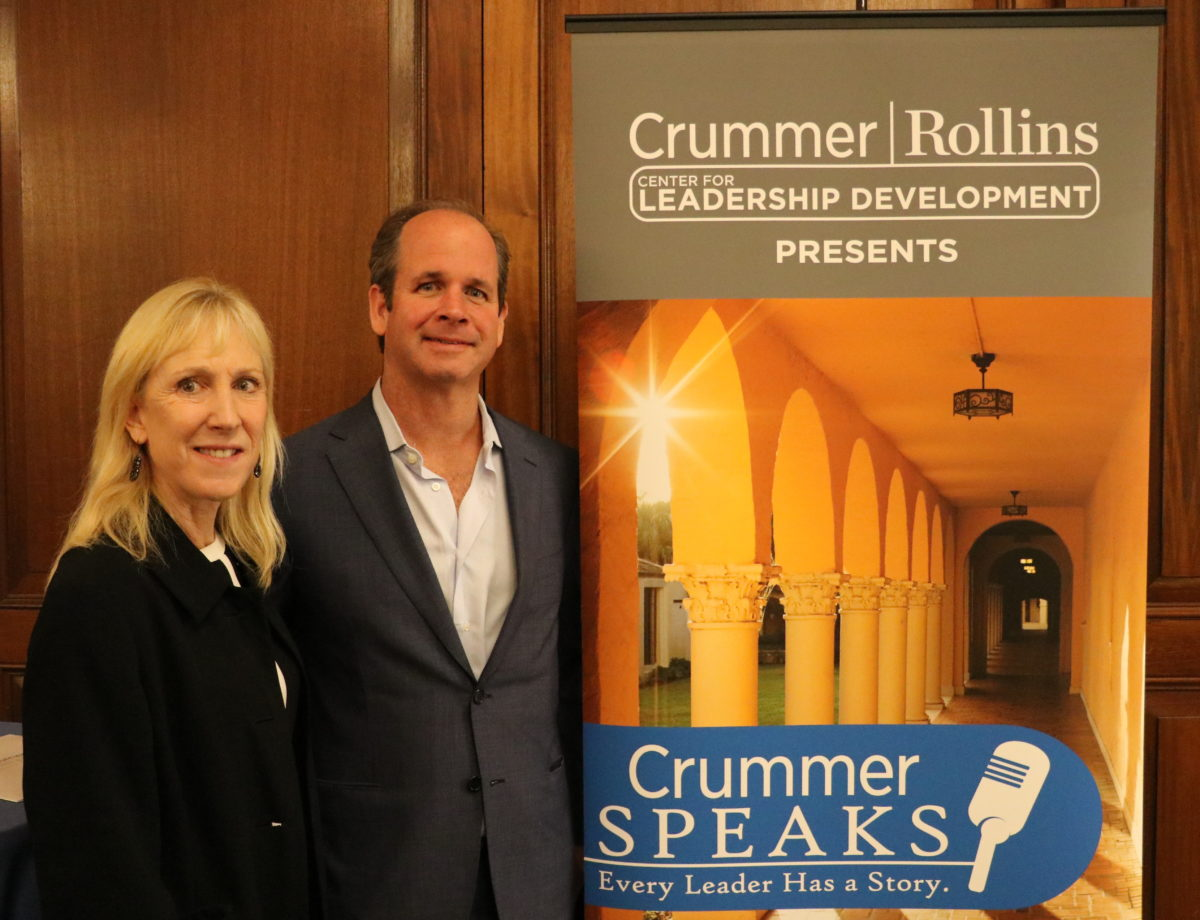 Crummer Speaks with Campbell Brown