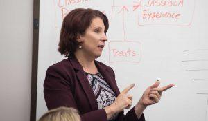 Kim Jentsch teaching